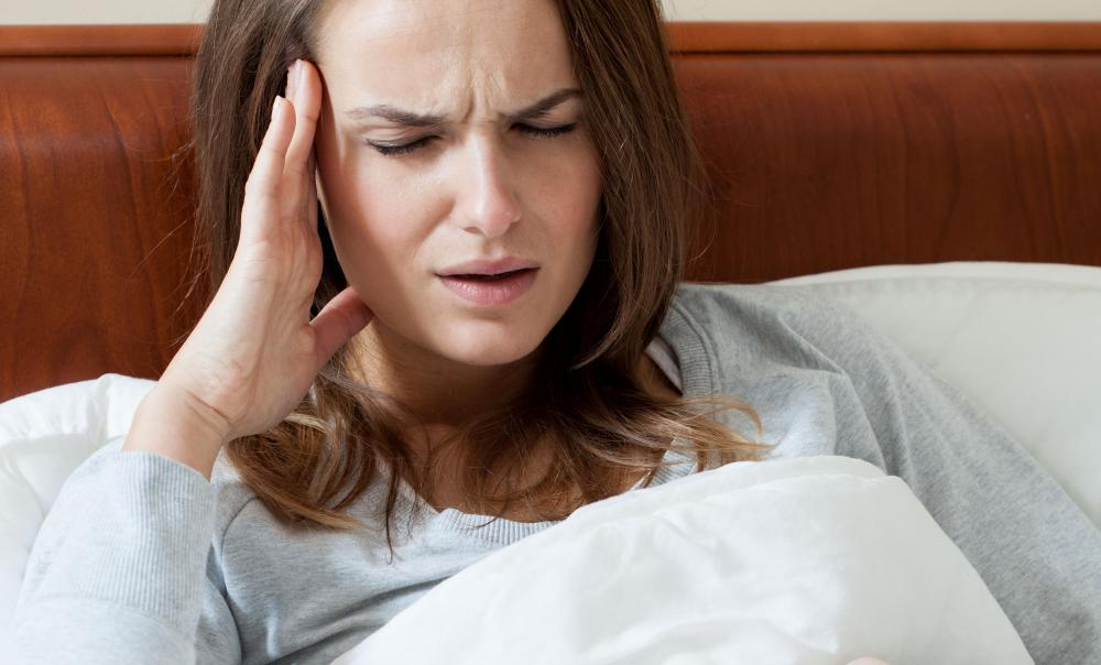 People with a history of migraines may have white matter foci.