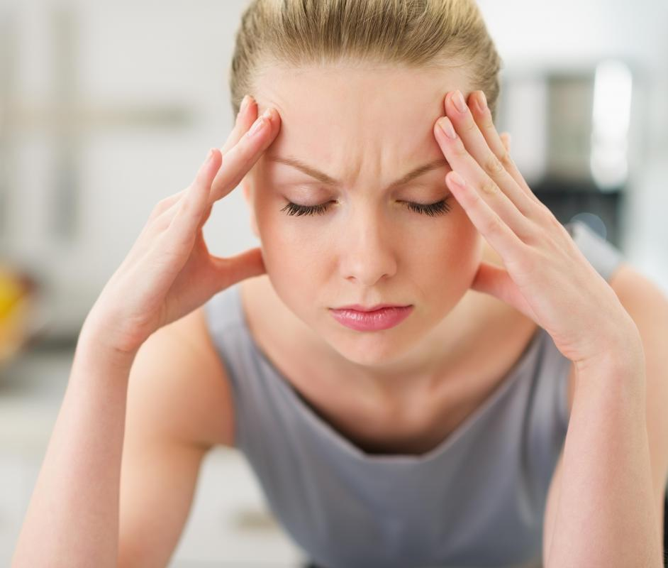 Symptoms of acidosis may include headache.
