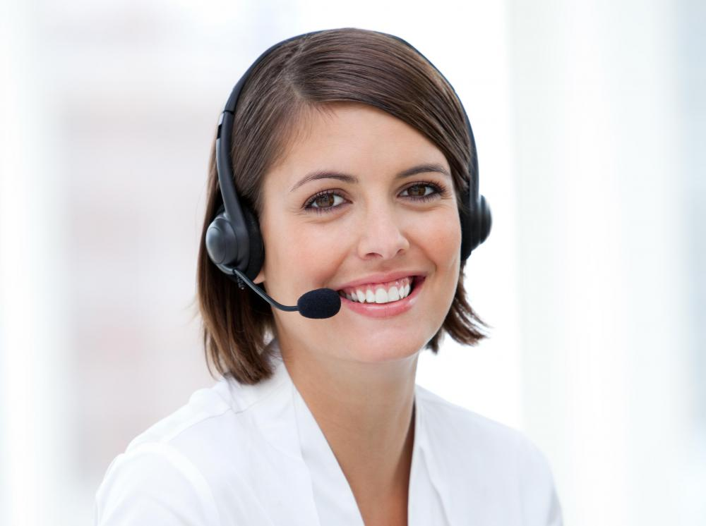 Virtual receptionists often use a hands-free headset so it is easier to multitask.