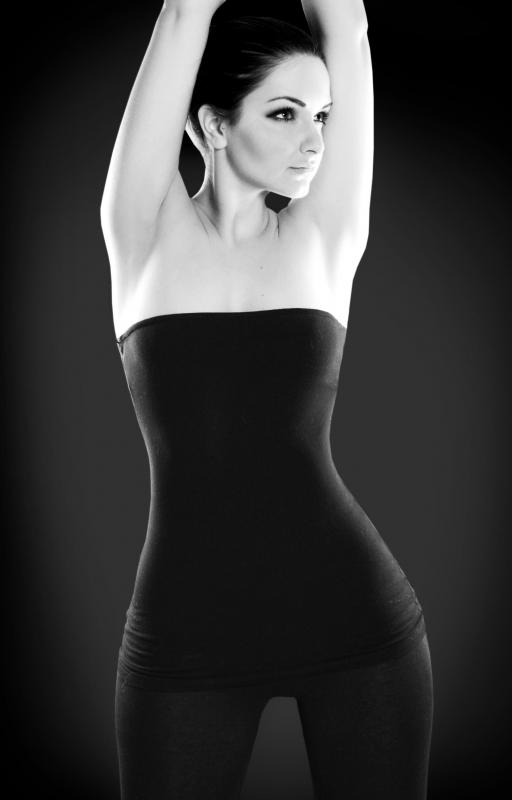 Woman With Hourglass Figure