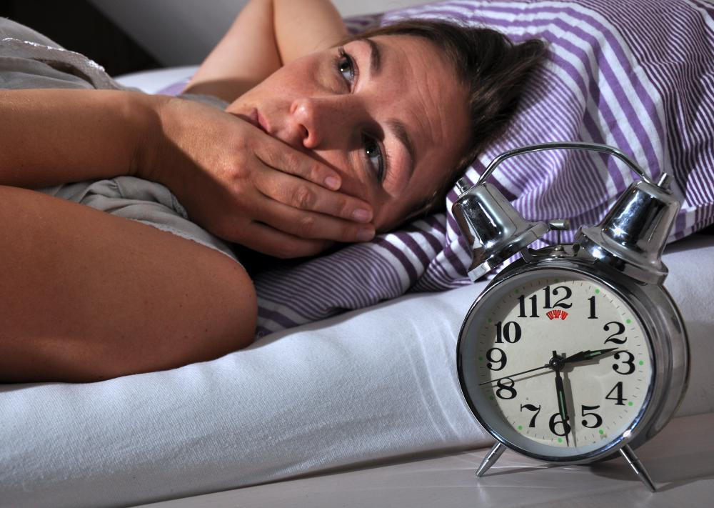 Insomnia may be related to emotional issues.