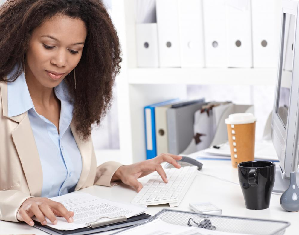 A senior administrative assistant may be responsible for organizing schedules and travel.