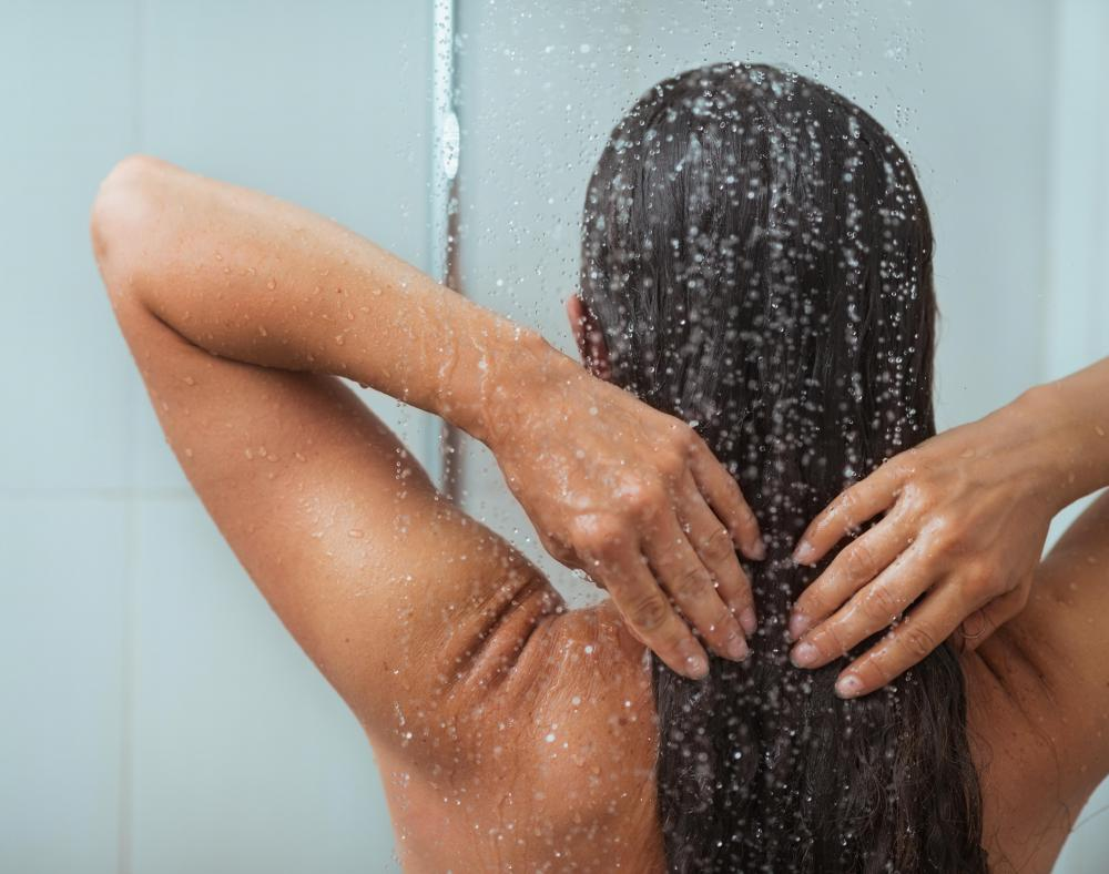 You should bath or shower pre-epilation in order to soften the skin.