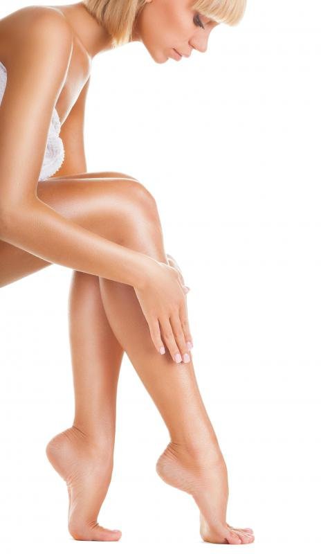 Epilators are most often associated with women and leg hair removal.