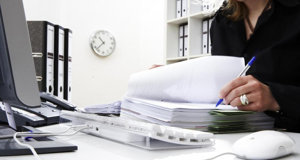 Private corporations often employ skilled file clerks.
