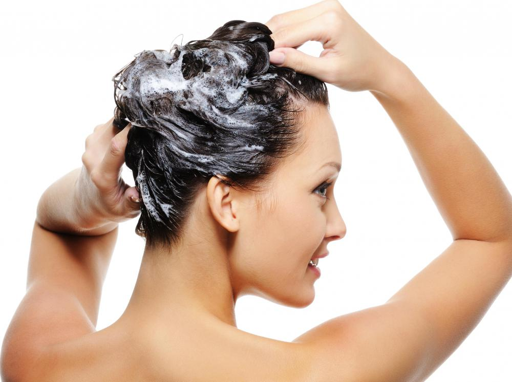 Karite shampoo should contain a high percentage of shea butter.