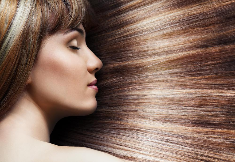 Highlights and lowlights should never more than three shades away from one's natural hair color.