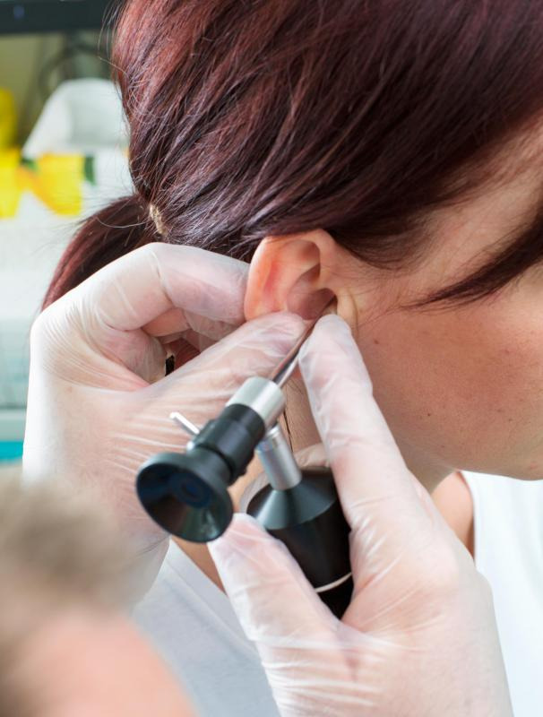 An audiologist must verify a patient's hearing loss before he or she is eligible for low cost hearing aid programs.