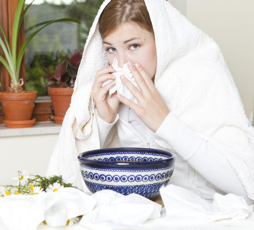 Many sinus infections are the result of a virus or other pathogen.