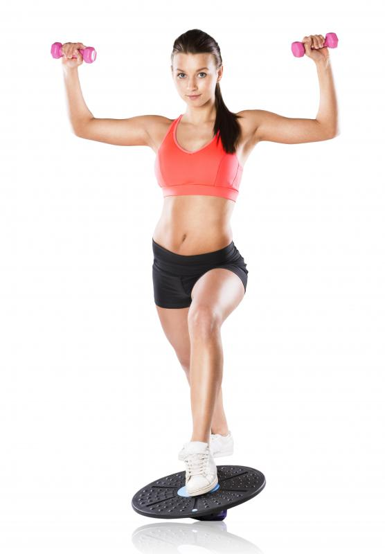 Dumbbells are popular forearm weights.