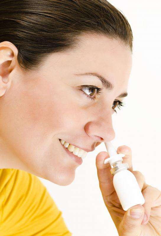 Nasal spray may irritate the inside of the nose and cause a nose blister.