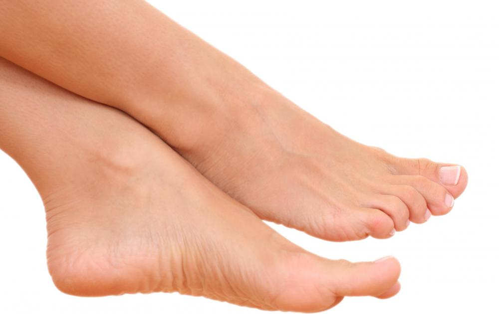 Foot odor is a common problem.