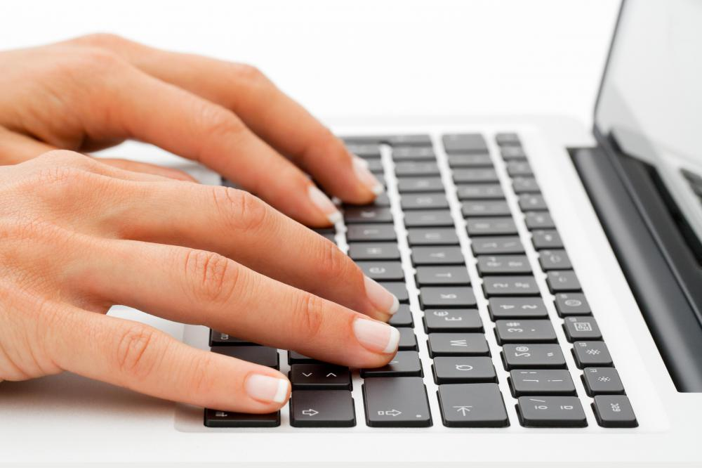 People who can type proficiently can find part-time editing and freelance writing jobs.