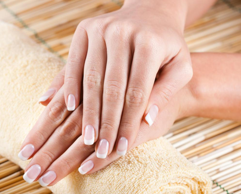 The finished look of a dry manicure should be similar to a traditional manicure.