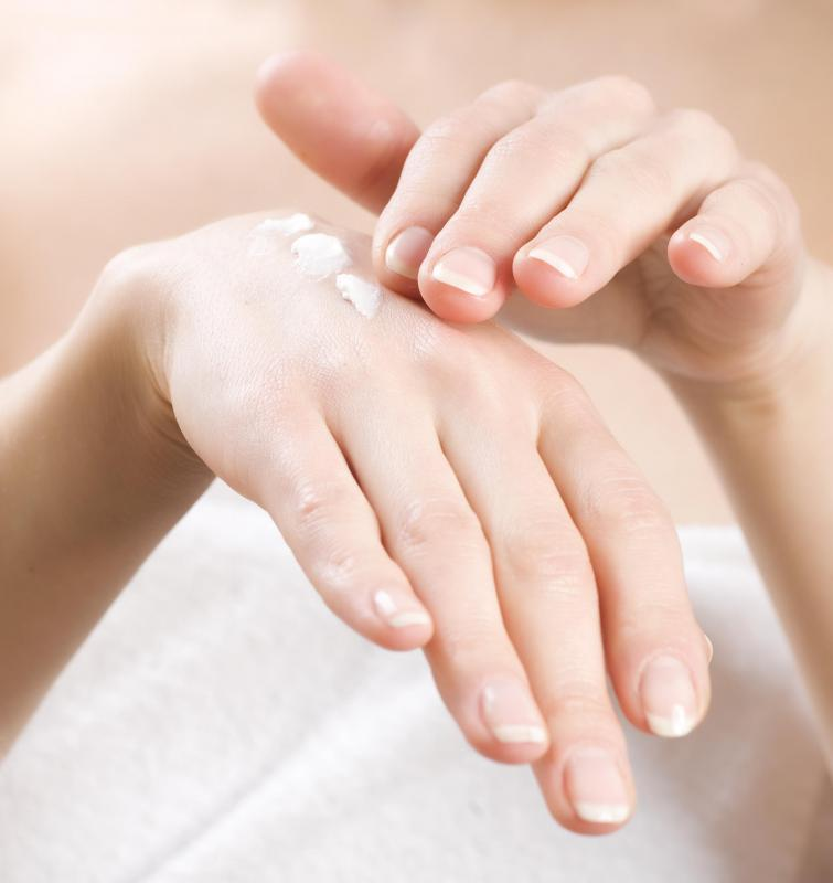 Look for hand creams with coconut or shea butter, both effective moisturizers.