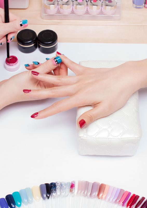 Peel-off nail polish doesn't require any nail polishing tools.
