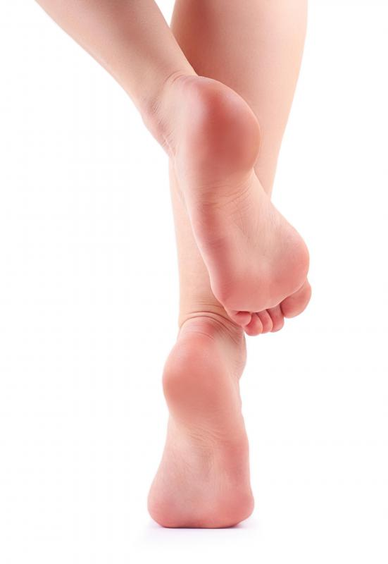 Pinched nerves may cause tingling feet.