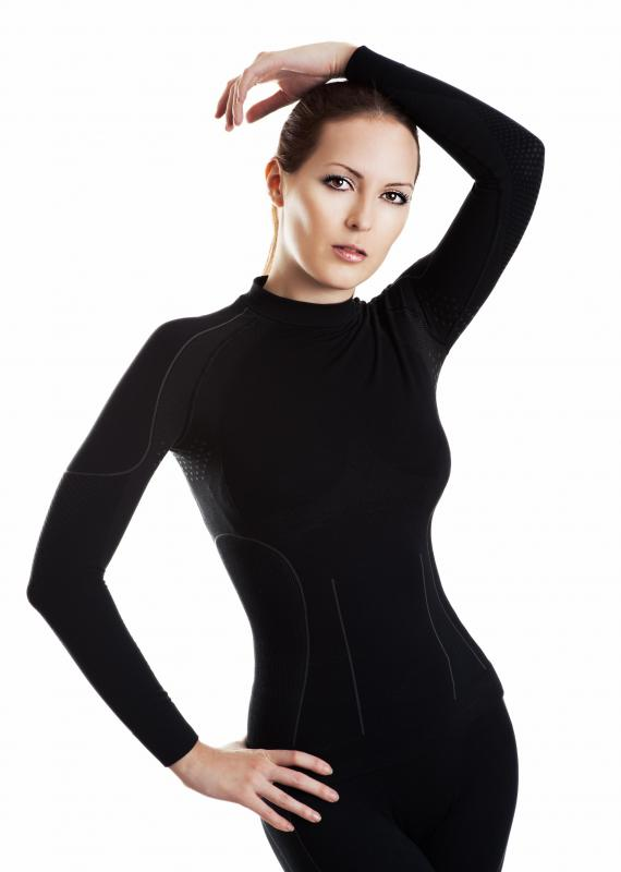 Thermal shirts are now offered in stylish and slimming styles.