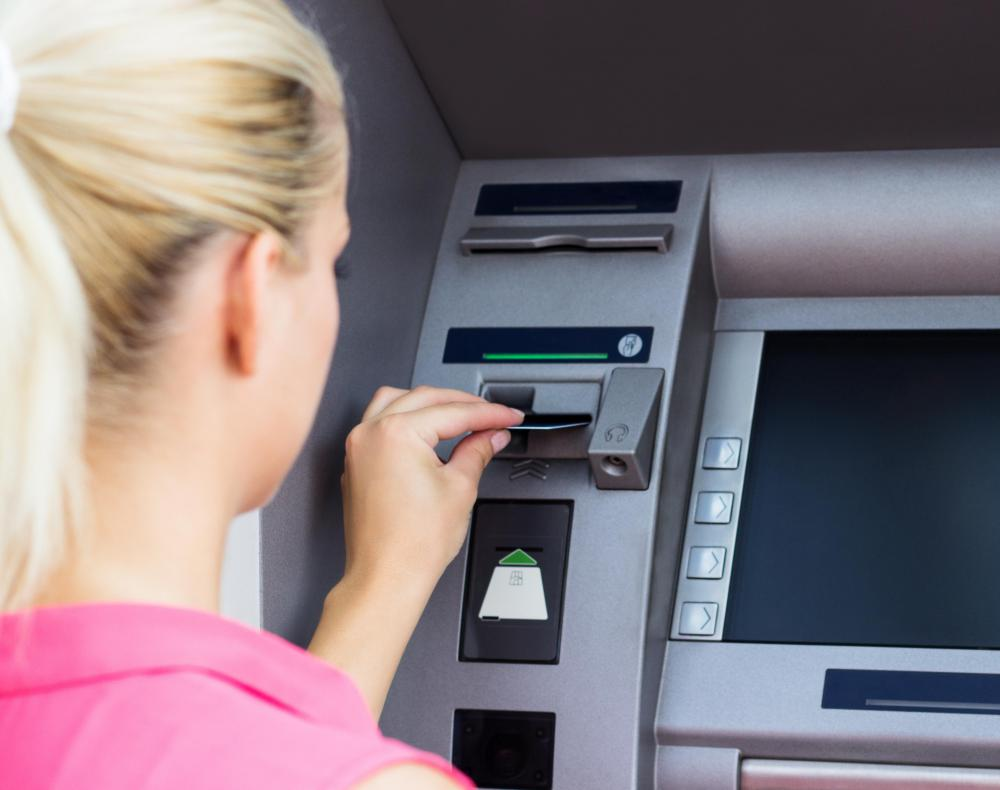 Some cash cards can only be used at ATM machines.