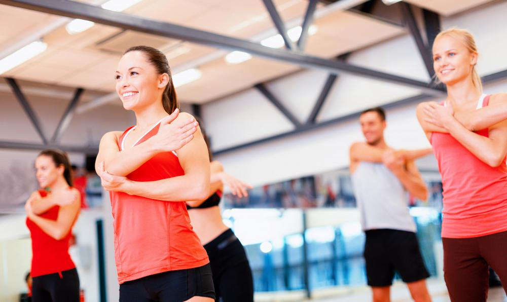 Some fitness classes are focused on intense cardiovascular exercise.