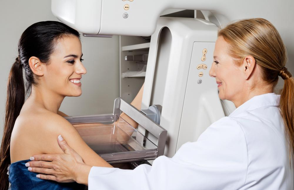 Mammograms are performed to detect the presence of breast cancer.