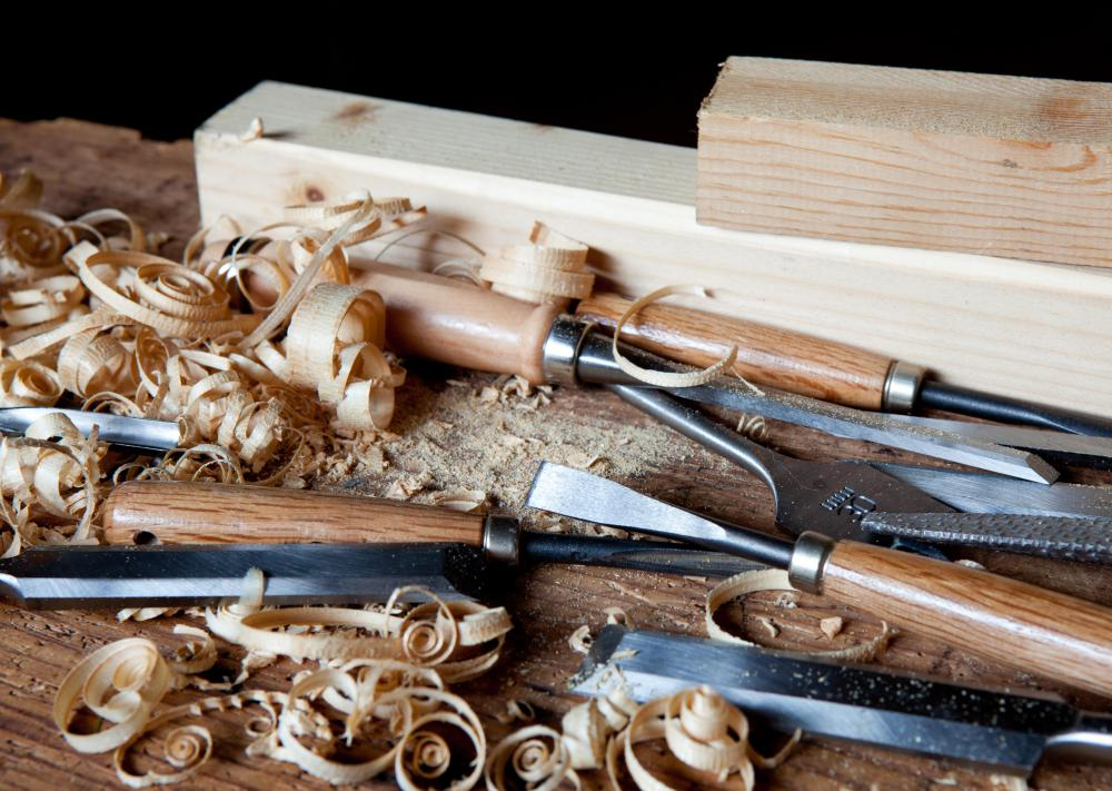 Architectural woodworking often involves adding the finishing touches to a home or commercial building.