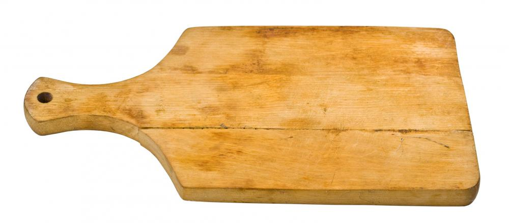 Wooden cutting boards are less likely to damage cutting knives than a plastic board.
