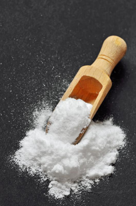 Baking soda can be added to degreasers to help remove baked-on substances.