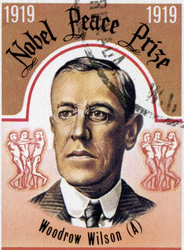 U.S. President Woodrow Wilson won the Nobel Peace Prize in 1919.