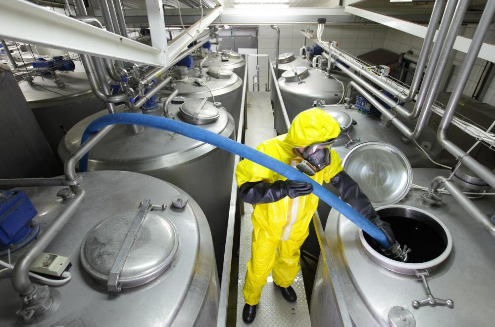 Chemical engineers may find work at chemical manufacturing plants.