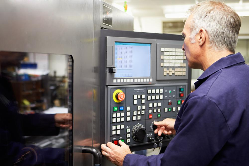 Most modern lathes rely on computer programming.