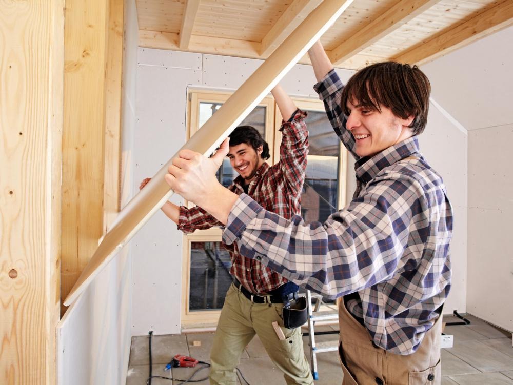 Good drywall contractors are professional and complete jobs on time and within a set budget.