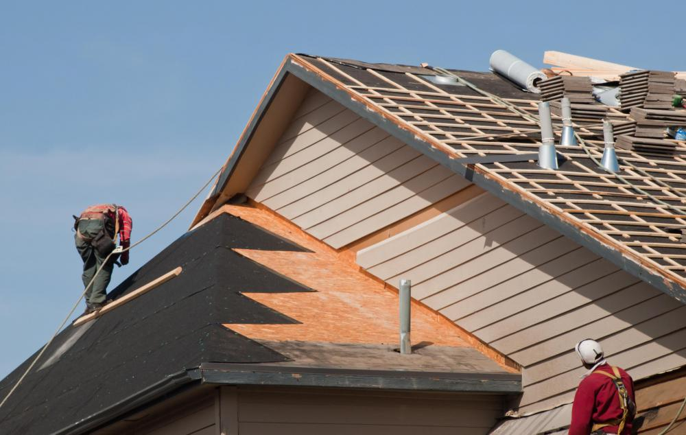 Pre-fabricated roof caps may be used when workers are installing roofing systems.