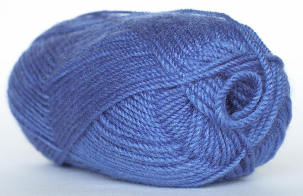A skein of worsted weight yarn.