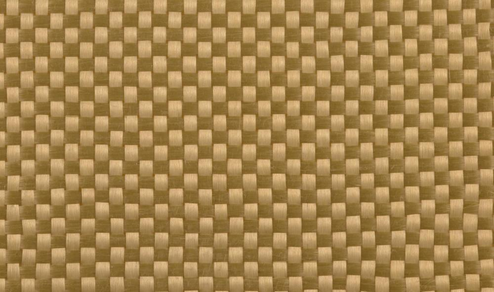 Kevlar® fabric, which is used to make body armor.