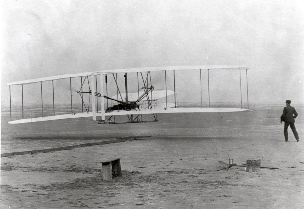 The Wright brothers were born in Ohio.