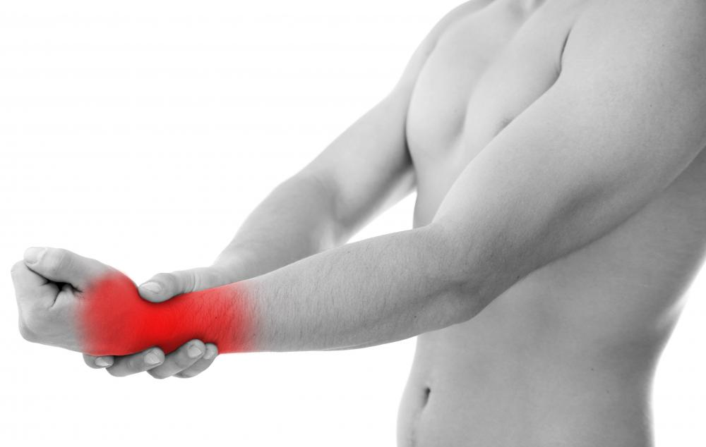 The early signs of wrist tendonitis include pain and stiffness.