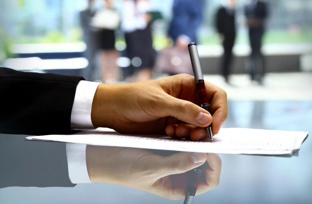 A contract manager will negotiate and ultimately sign contracts with any kind of supplier.