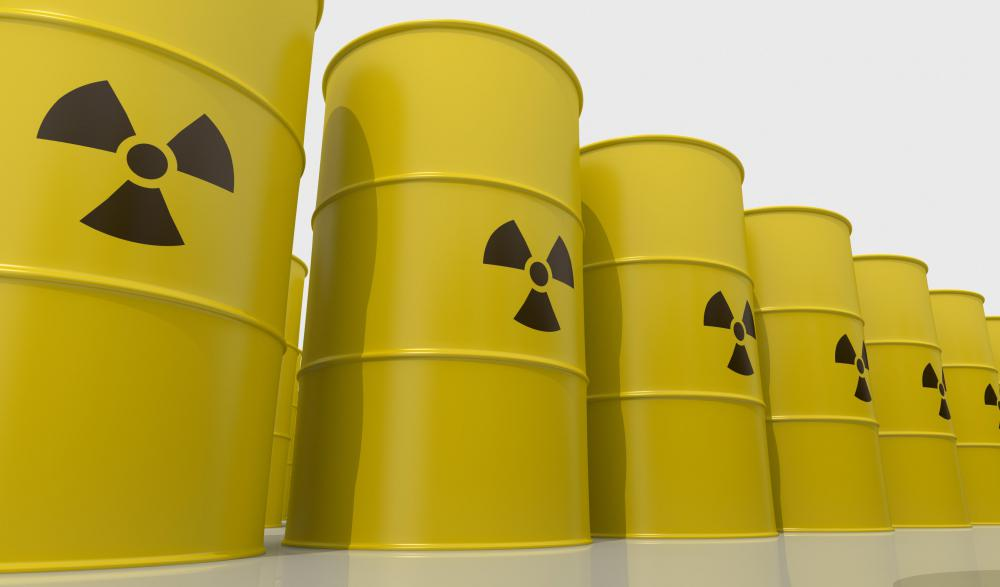 Nuclear plants produce radioactive waste, which must be stored and disposed of.