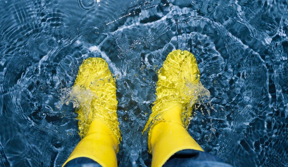 When feet are immersed in water for an extended period of time, a condition known as trench foot may develop.