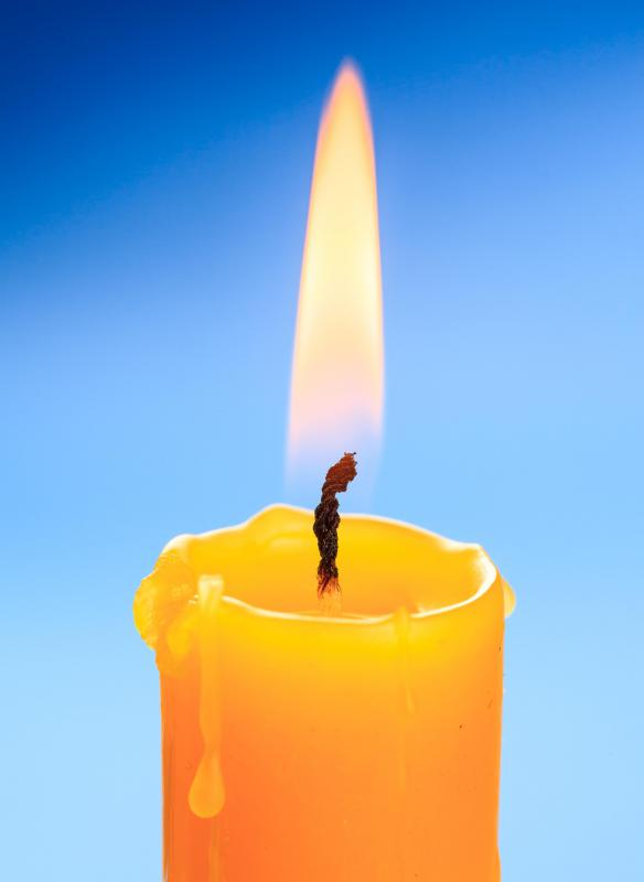 Beeswax can be used to make candles.