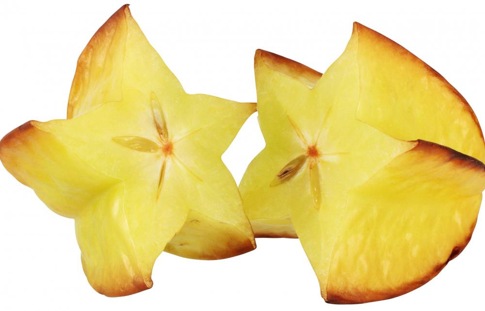 Starfruit may break down some medications before they can work.