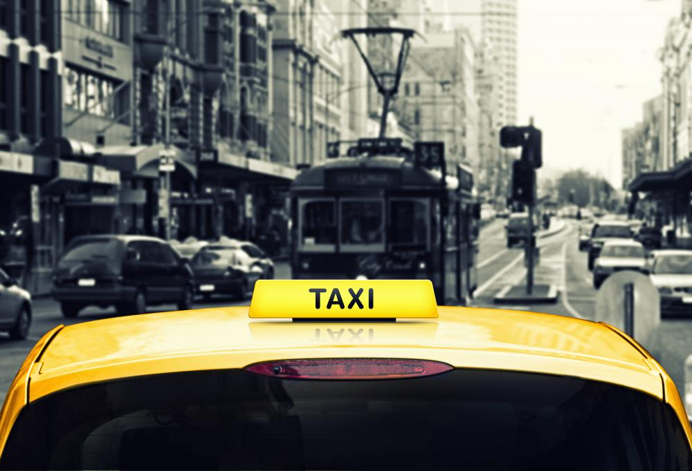 A hotel porter may order taxis for hotel guests.