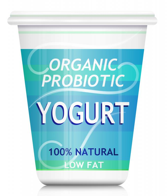Yogurt makes a good base for healthy treats.