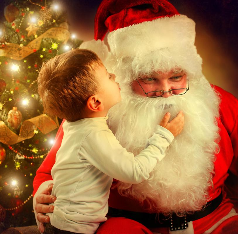 some parents say that allowing their children to believe in santa is part of the magic of christmas - Santa Claus Children