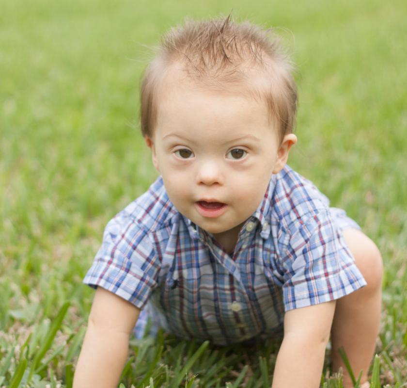 Down syndrome can be diagnosed with a gene RNA test.