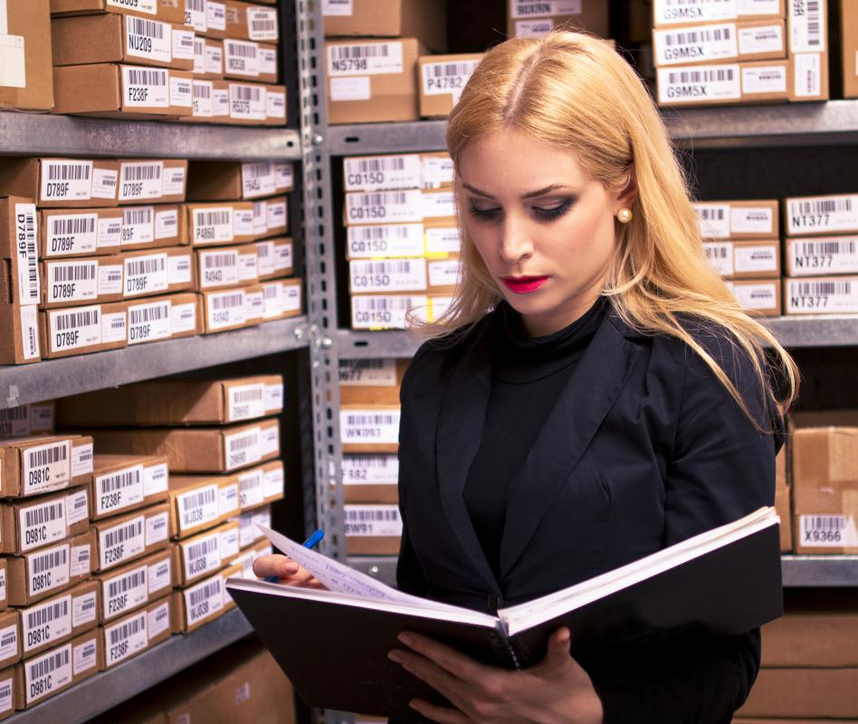Inventory management specialists may be asked to forecast, track and reconcile inventory.