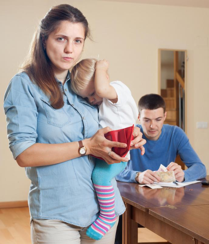 In the United States, families may qualify for certain child care and other tax credits.
