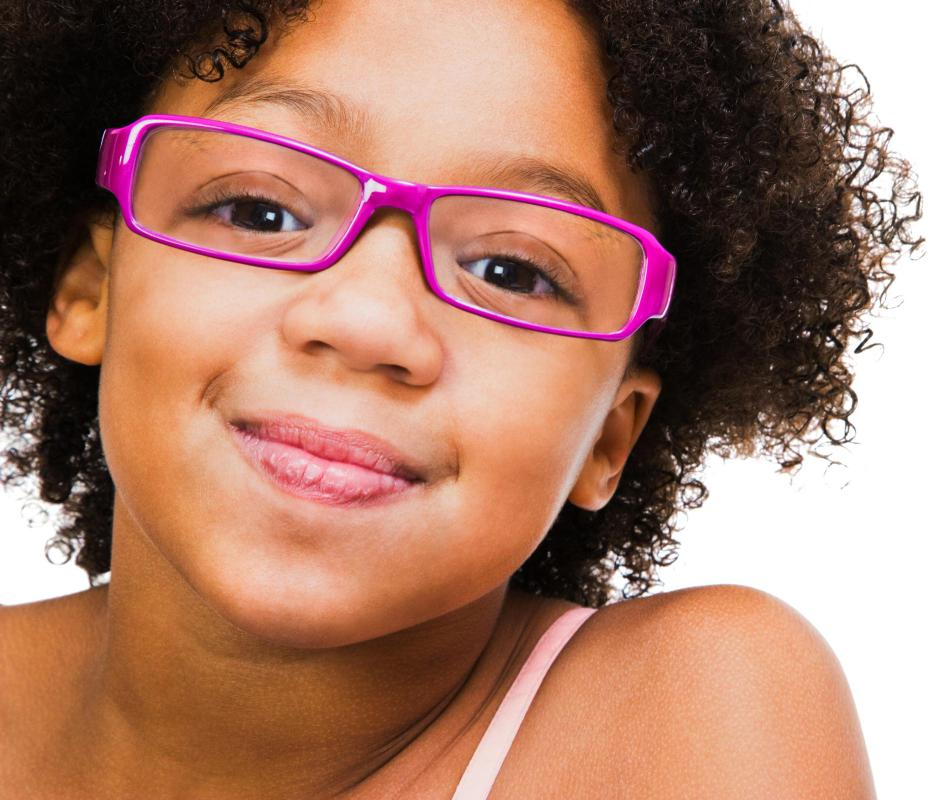Pedriatric optometrists usually test a child's vision to diagnose any problems.