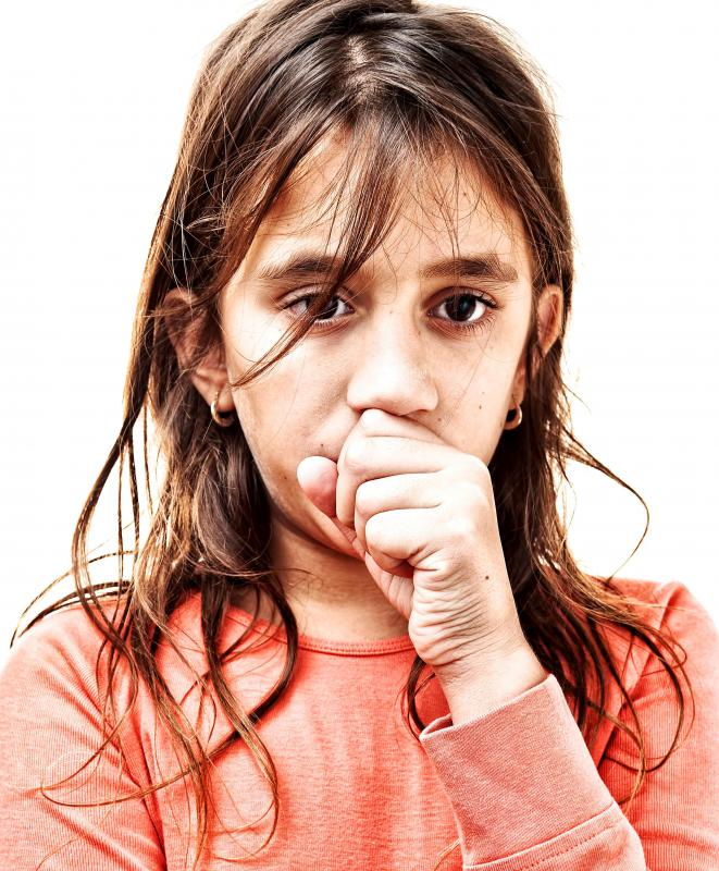 Bronchitis symptoms are more severe when they occur in children.